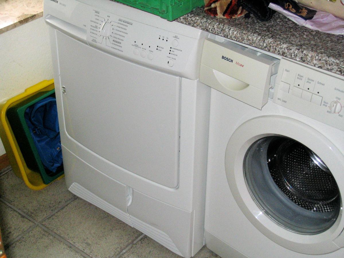 Waschmaschine und trockner sind vorhanden nessmersiel