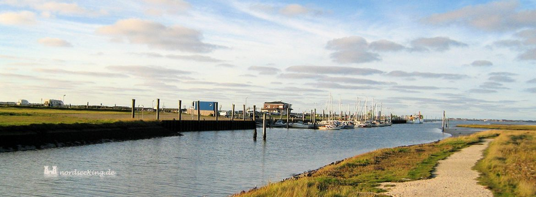 Nessmersiel- Salzwiesen und Yachthafen